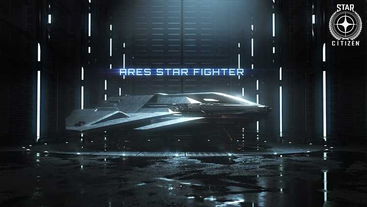 Star Citizen shows off Ares Starfighter in newest trailer