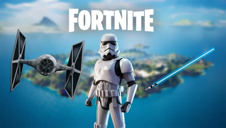 Fortnite celebrates Star Wars Day with lightsabers and character skins