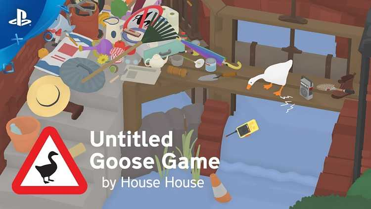 Untitled Goose Game Gets PlayStation 4, Xbox One Ports
