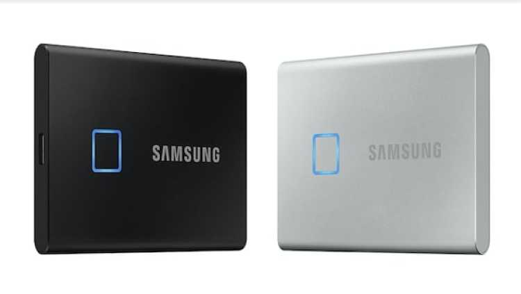 An SSD with biometrics is coming from Samsung, the T7 Touch SSD
