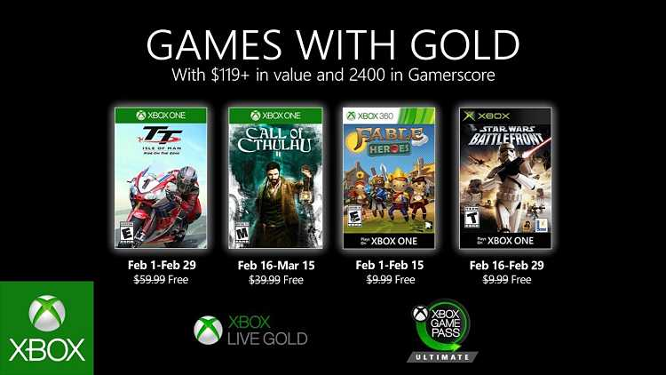 Xbox Live Games With Gold for February includes Call of Cthulhu