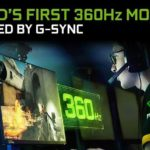 NVIDIA announces new 360Hz G-Sync monitors