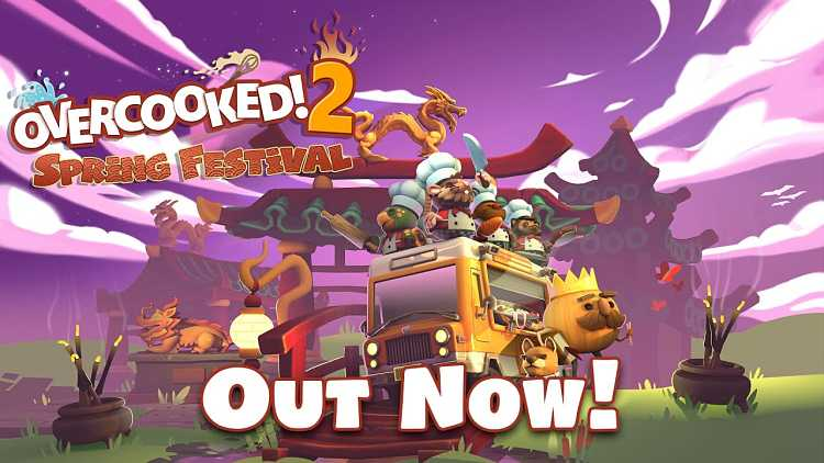 Overcooked 2's Spring Festival