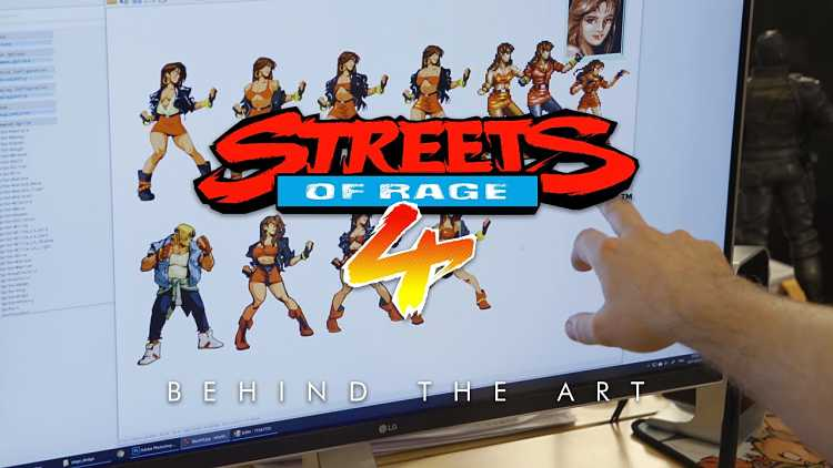Streets of Rage 4 takes a deep dive on art style in new trailer