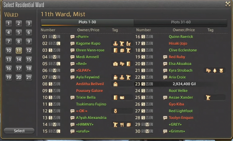 How to buy a house in Final Fantasy XIV