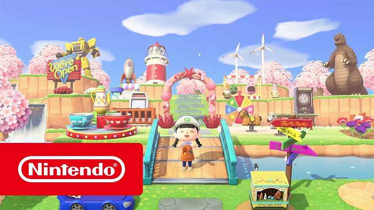 Animal Crossing: New Horizons trailer showcases community events