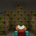 How make a bookshelf in Minecraft