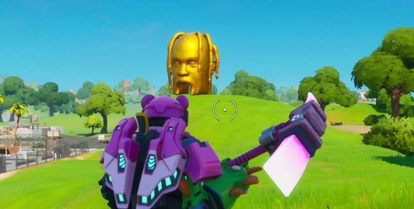Where to find Astro Heads in Fortnite Chapter 2 Season 2