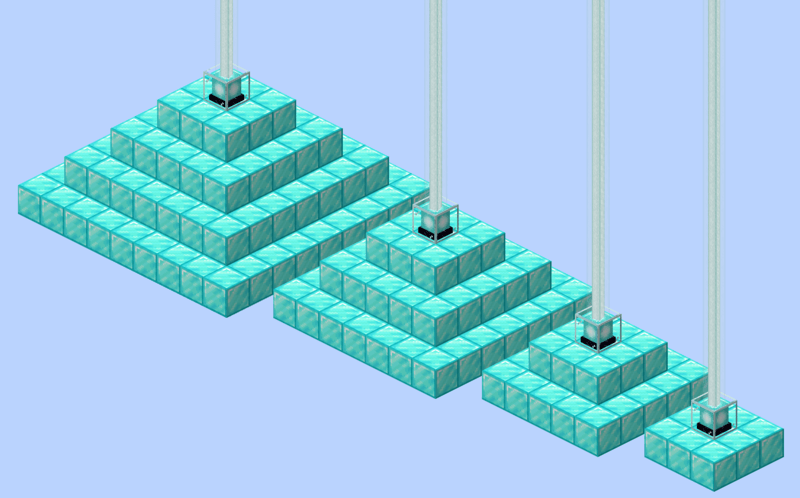 Minecraft Beacon Pyramids