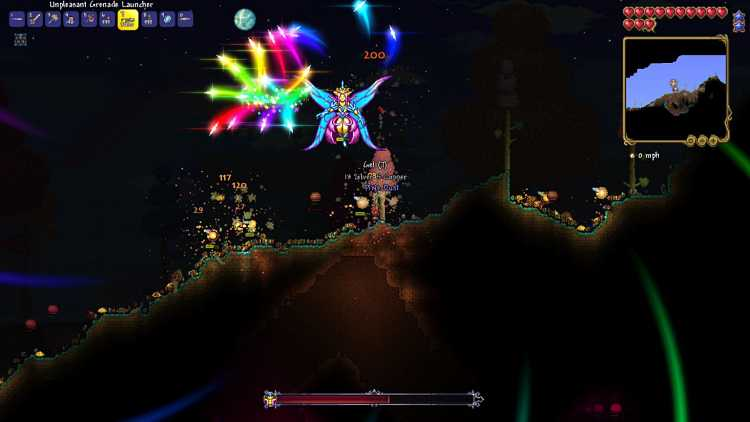 Where to find the Empress of Light in Terraria 1.4