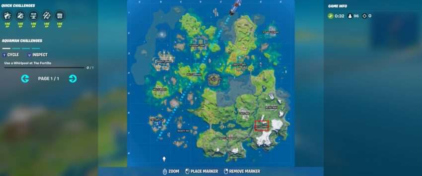 Where to find Kit in Fortnite Chapter 2 Season 3