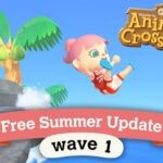 Animal Crossing: New Horizons Summer Update Wave 1 patch notes