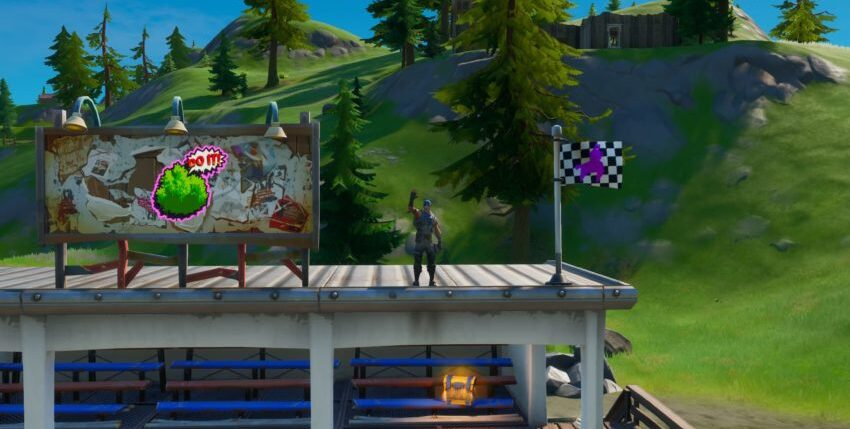 Find Motorboat Mayhem in Fortnite Chapter 2 Season 3