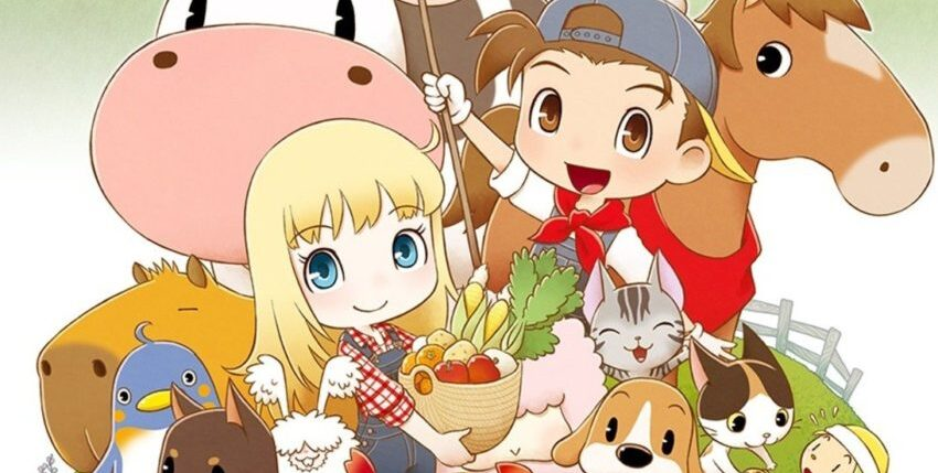 How to get the Seaside Cottage in Story of Seasons: Friends of Mineral Town
