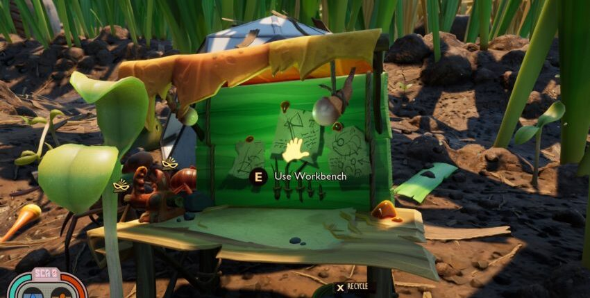 How to get a workbench in Grounded
