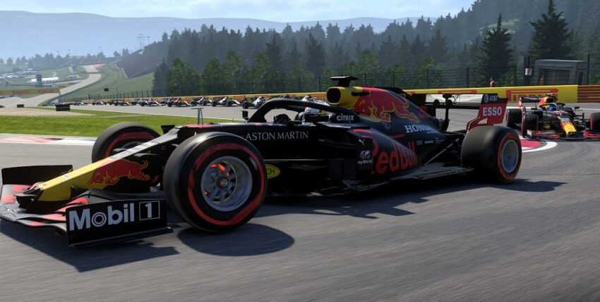 How to start a LAN game in F1 2020