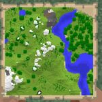 How to craft and expand a map in Minecraft