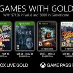 October 2020's Xbox Live Games With Gold Announced
