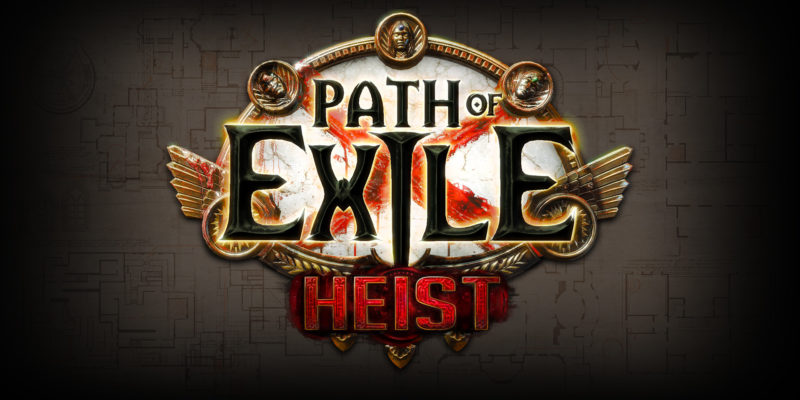 POE 3.12 Path of Exile: Heist Announced