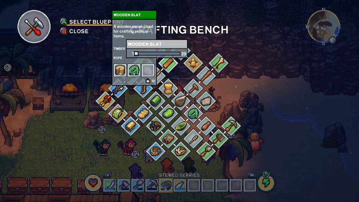 How to craft multiple of one item in the Survivalists