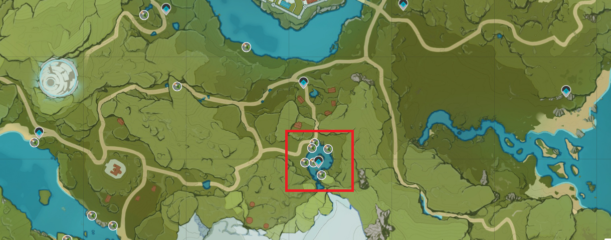The best place to farm Calla Lily in Genshin Impact