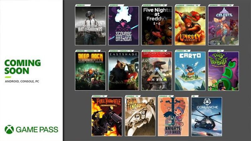 Xbox Game Pass adds Celeste, Five Nights at Freddy's, other titles