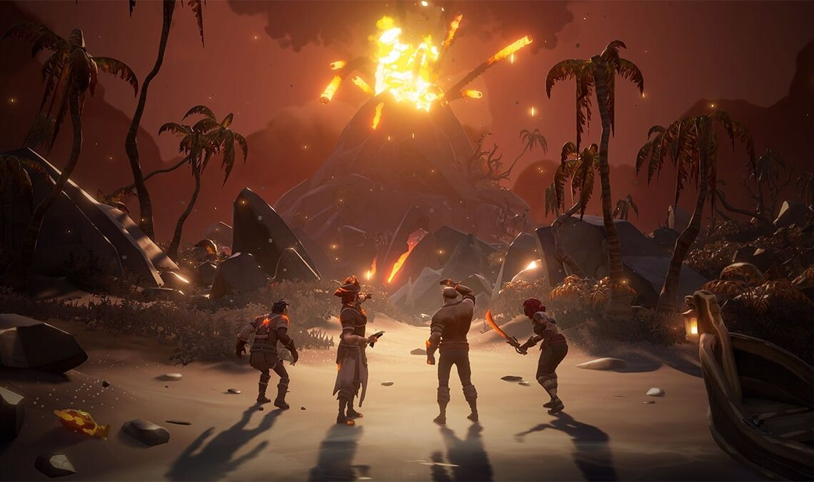 How to light all your ship's lanterns with blue and white Flames of Fate in Sea of Thieves Fate of the Damned