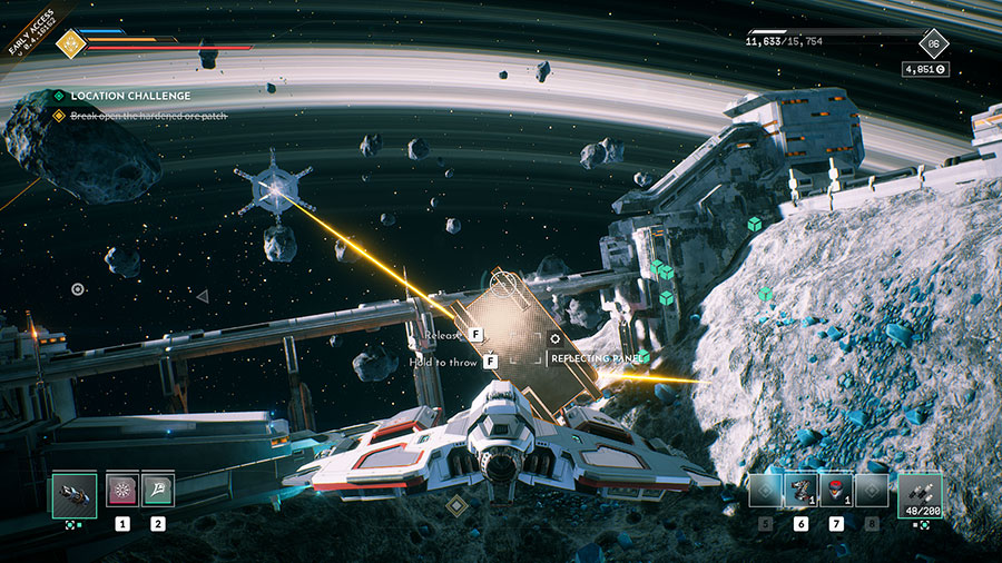 How to break open the hardened ore patch in Everspace 2