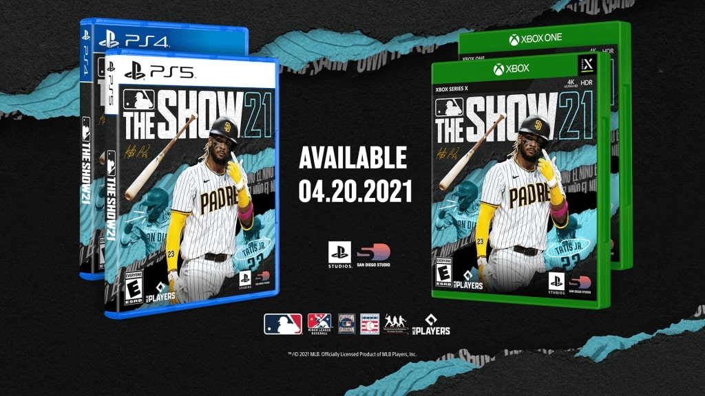 MLB The Show 21 Cover Athlete Revealed