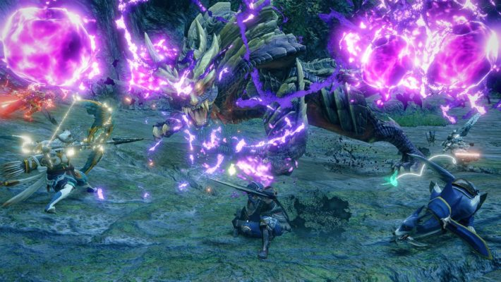 Monster Hunter Rise will have free title updates