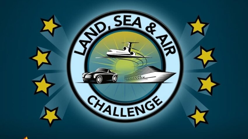 How to complete the Land, Sea, and Air Challenge in BitLife