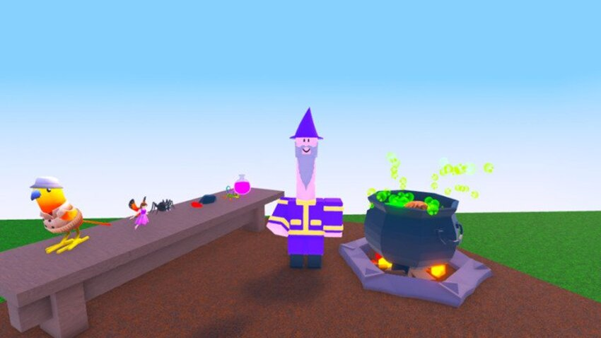 How to make DNA potion in Roblox Wacky Wizards