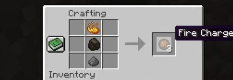 How do you make a Fire Charge in Minecraft?