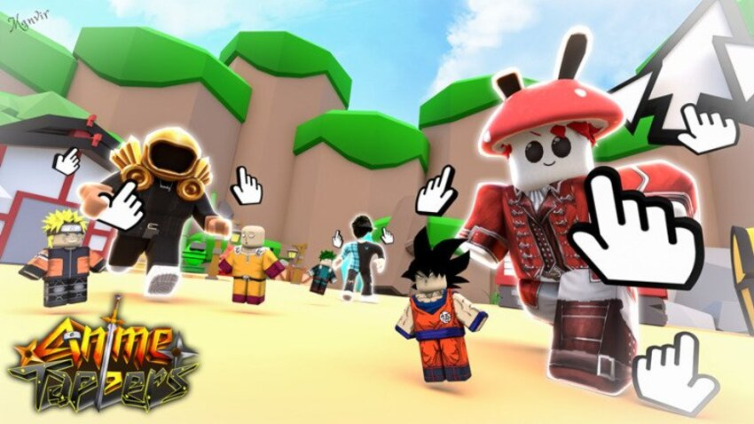 All New Roblox Anime Tapper Codes